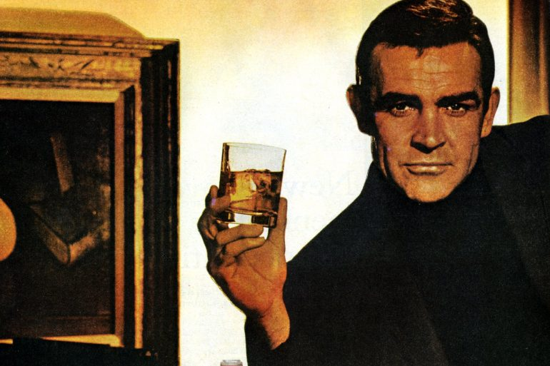 Sean Connery for Beam - Jim Beam (1966 and 1967)