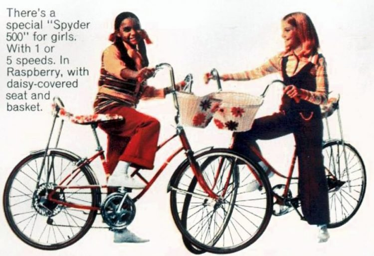 Sears Spyder 500 Bicycle for girls 1971