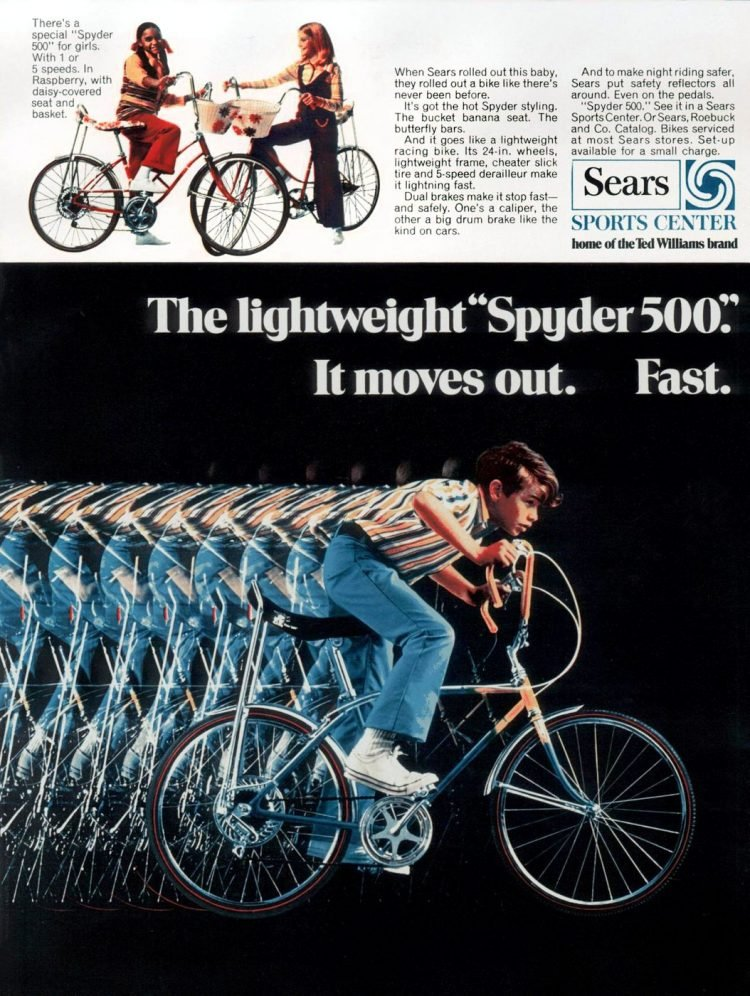 Sears Spyder 500 Bicycle from 1971