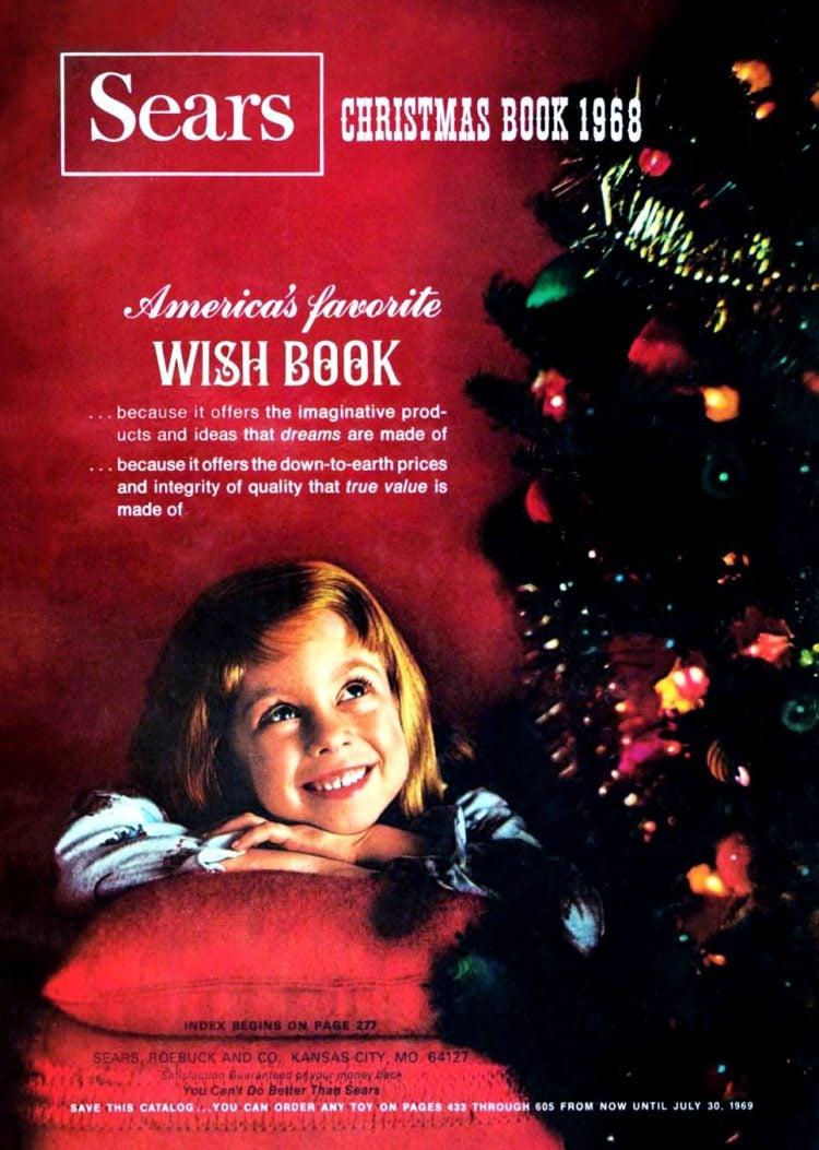 Sears Wish Book cover 1968