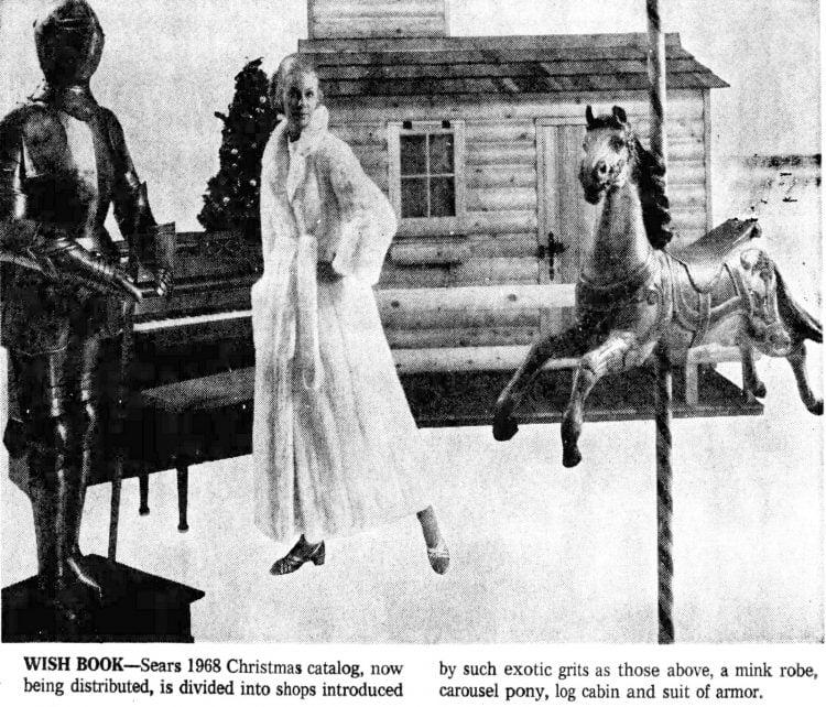 Sears Wish Book history