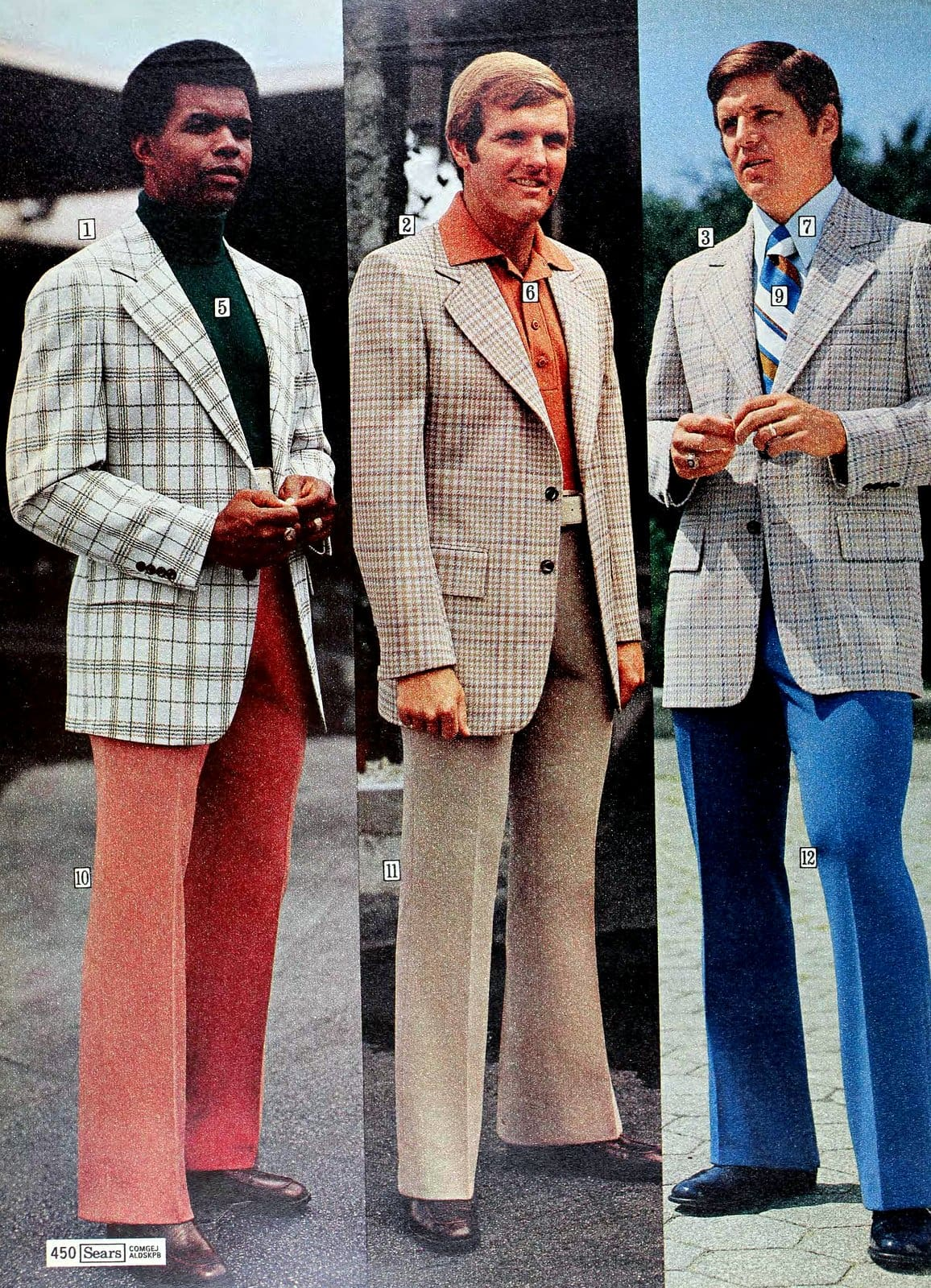 Sears suits and menswear from the 1970s (1)