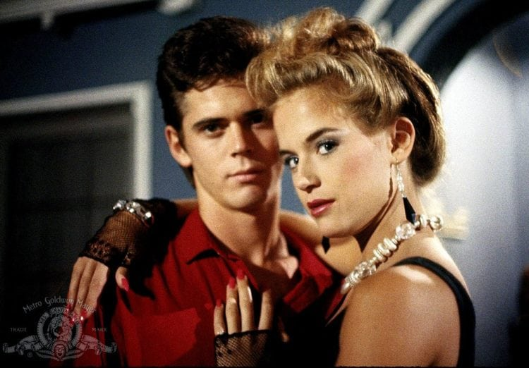 Secret Admirer movie - C Thomas Howell and Kelly Preston