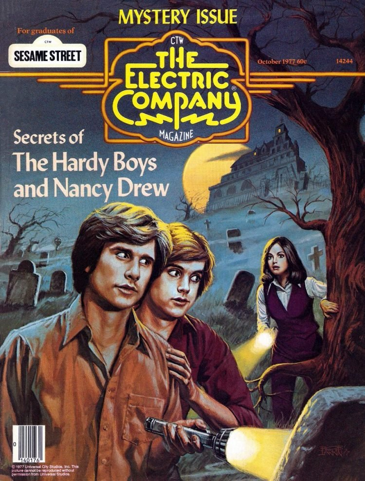 Secrets of the Hardy Boys and Nancy Drew - Electric Company magazine