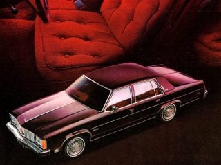 See Classic Oldsmobile luxury sedans from the late 70s, inside out