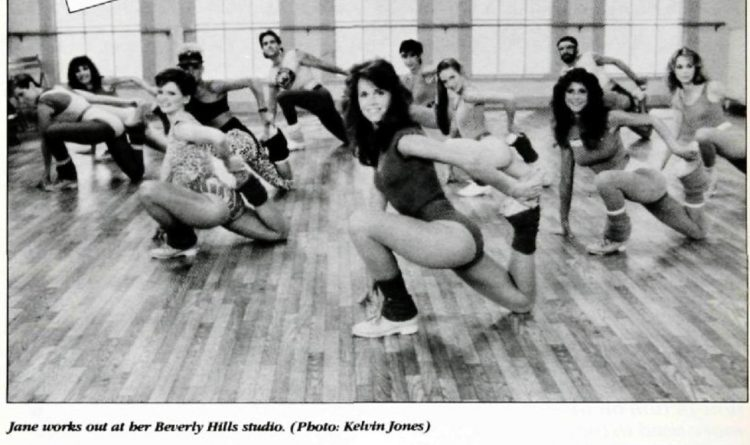 The Jane Fonda studio workout - 1985