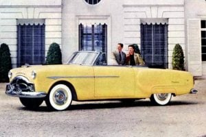 See Packard Patrician 400 'advanced motor cars' from 1951