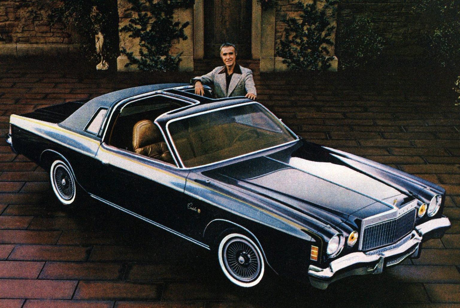 See Ricardo Montalban pitching Chrysler Cordoba - the car with 'soft Corinthian leather'
