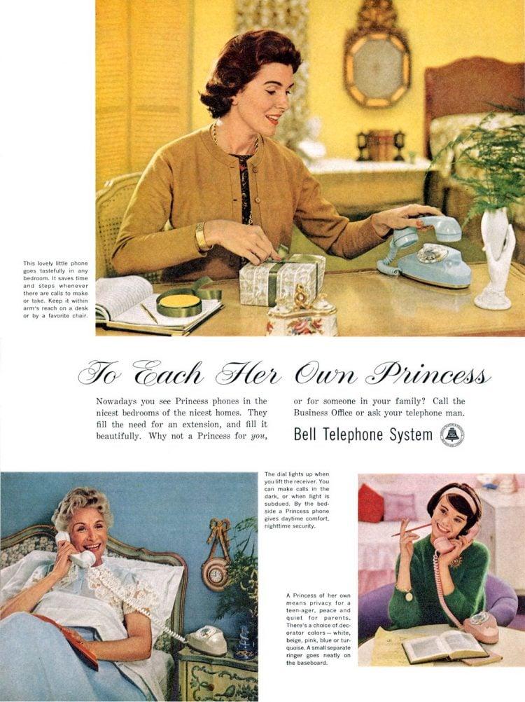 See Vintage Princesss phone styles