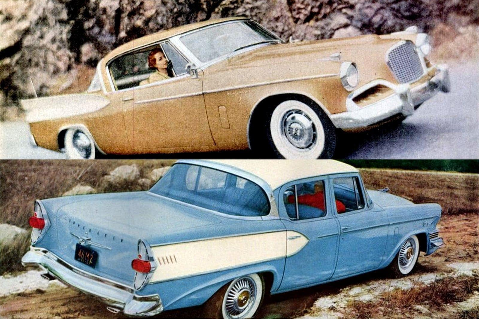 See classic 1950s Studebaker cars