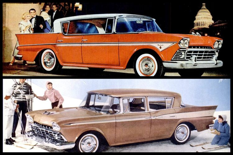 See classic Rambler cars from the 1950s