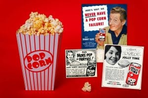 See how Jolly Time popcorn used to come in cans