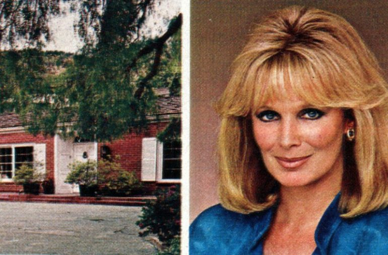 See inside Dynasty actress Linda Evans' Beverly Hills home (1982)