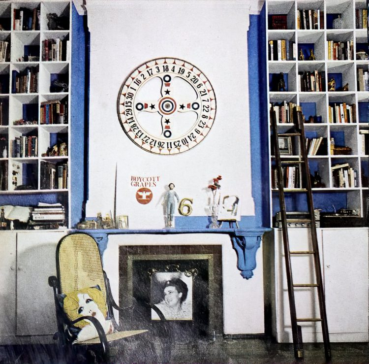 See inside Gloria Steinem's apartment home in 1970 (1)