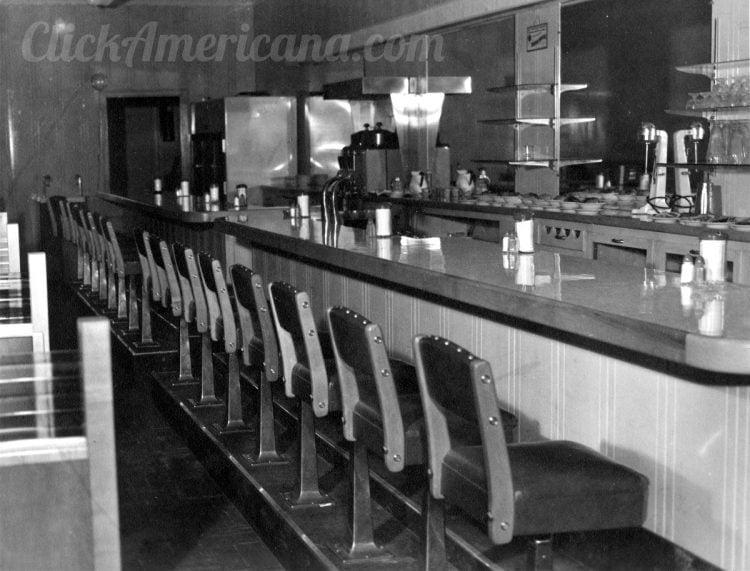See inside a vintage diner 1940s (1)