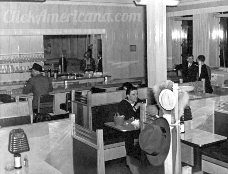 See inside a vintage diner 1940s (2)