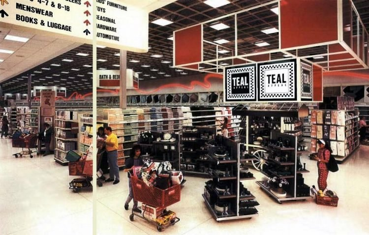 See old Target store from 1990 at Click Americana