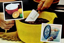 See retro Rubbermaid food storage and kitchen gadgets