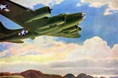 See some Flying Fortress planes from WWII (1940s)