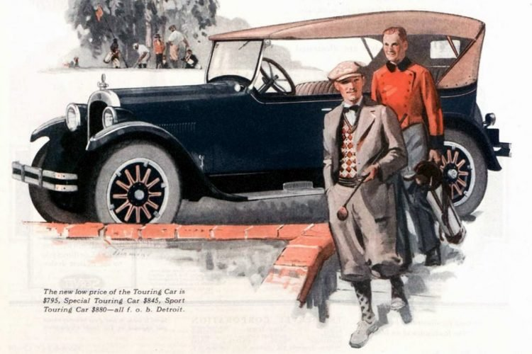 See some early Dodge cars from the 1920s from 'Dodge Brothers'