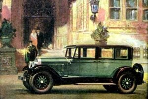 See some of the earliest classic Cadillac car models