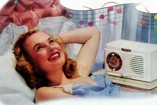 See some old-fashioned clock radios that used to be so popular