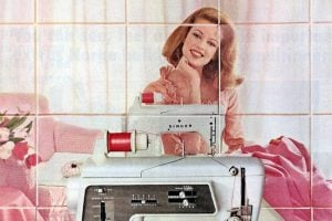 See some sewing machines from the 60s