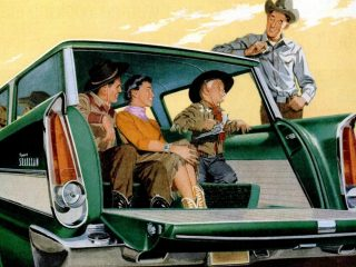 See the Plymouth Suburban station wagons from back in the 50s