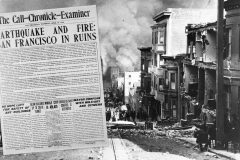 See the first pictures & news reports after the devastating 1906 San Francisco earthquake and fire