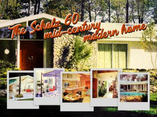 See the mid-century modern Scholz Mark 60 home, inside & out
