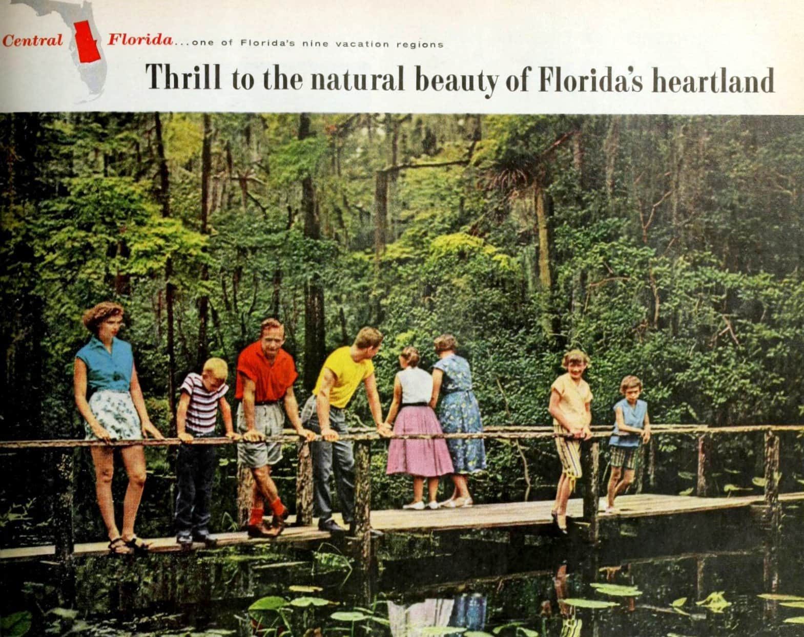 See the natural wonders of old Central Florida (1961)