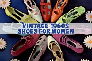 See vintage 1960s shoes for women