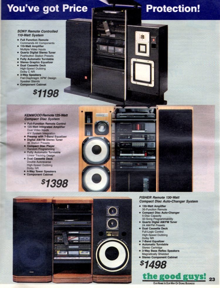 See vintage '80s audio systems - stereo components (1)