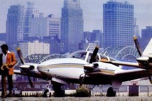 See vintage Beechcraft propeller airplanes 1960s 1970s