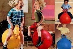 See vintage Hoppity Hop and Hoppity Horse toys