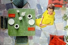 See vintage card tables