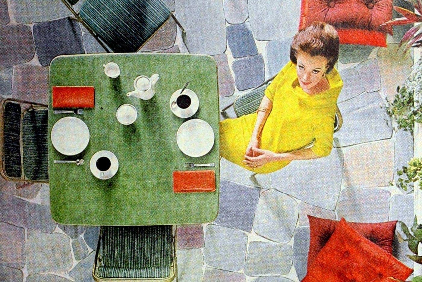See vintage card tables