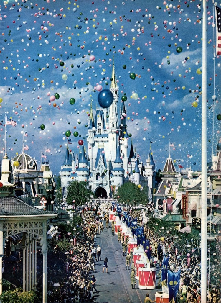 See what Disney World looked like when it first opened in 1971
