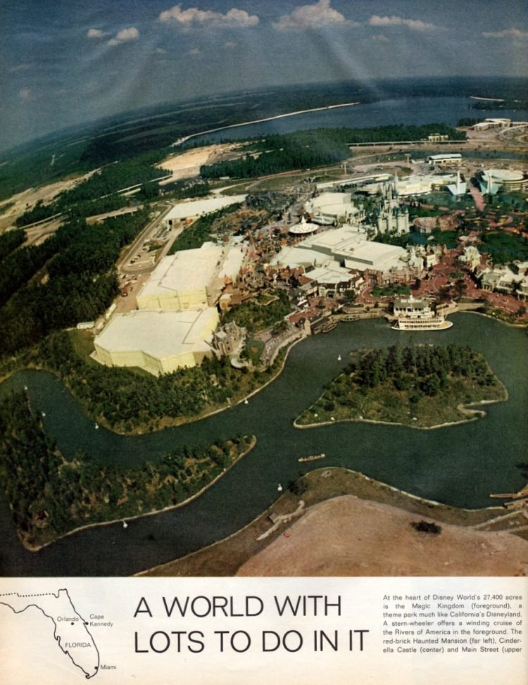 See what Disney World looked like when it first opened in 1971 - Vintage scenes (3)
