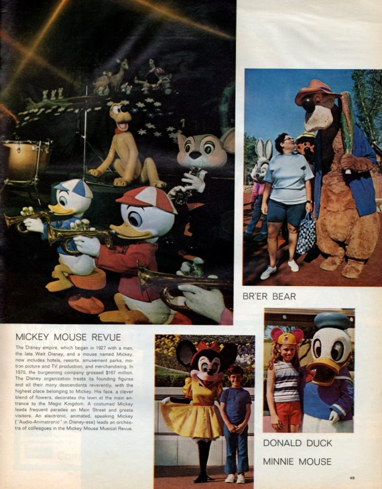 See what Disney World looked like when it first opened in 1971 - Vintage scenes (6)