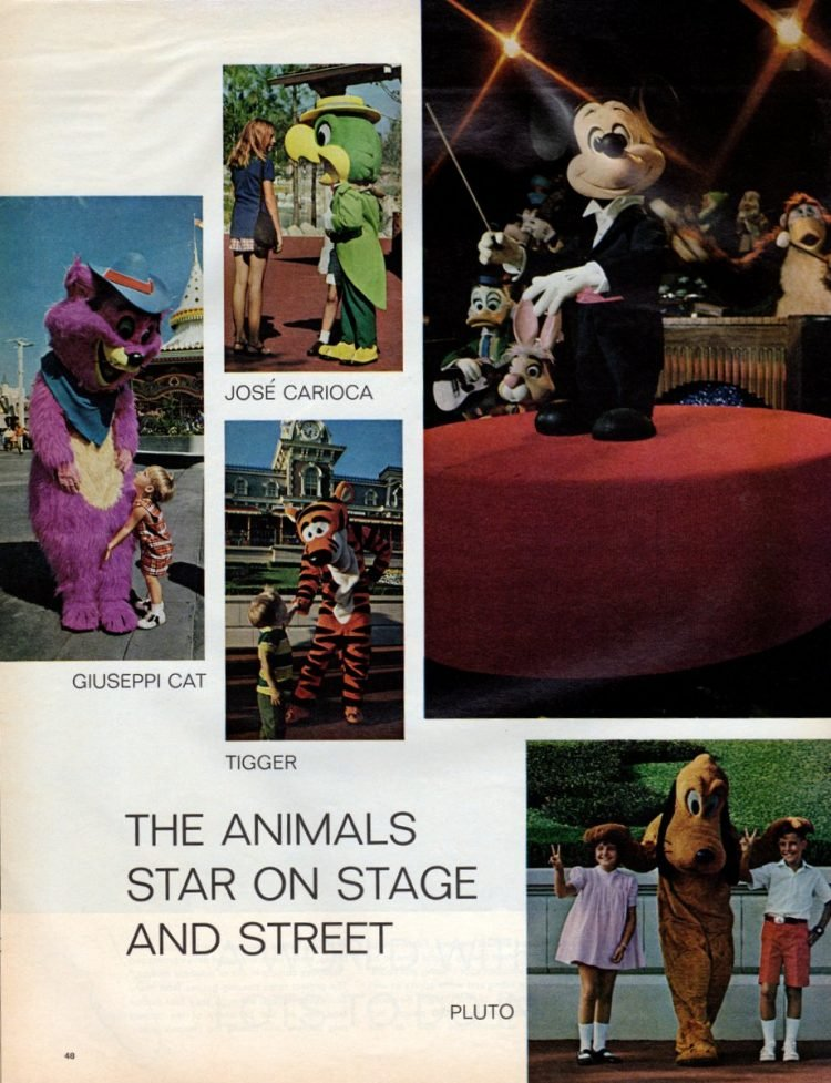 See what Disney World looked like when it first opened in 1971 - Vintage scenes (7)