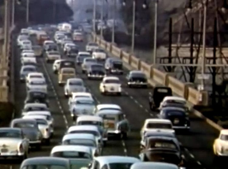 See what Southern California freeway traffic was like in the '50s (2)