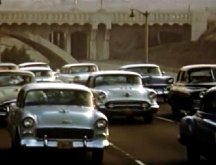 See what Southern California freeway traffic was like in the '50s (3)
