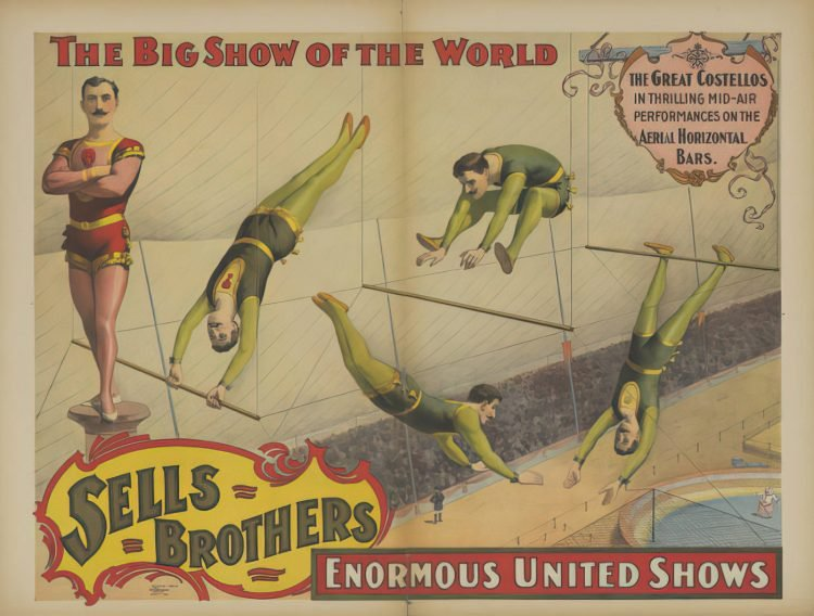 Sells Brothers Circus - The Great Costellos (1895)