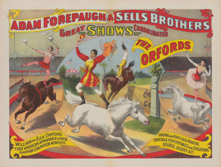 Sells Brothers Circus - The Orfords (1897)