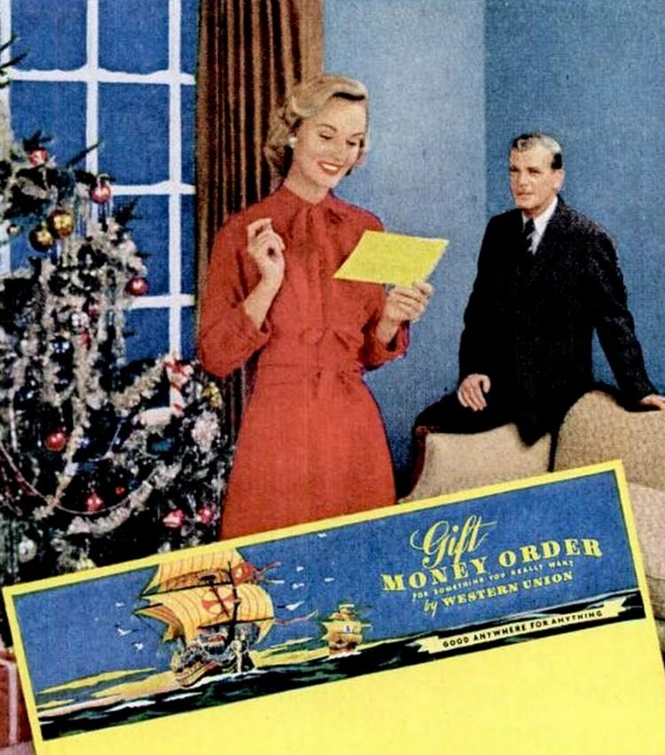 Send a telegram for Christmas - 1955 (1)