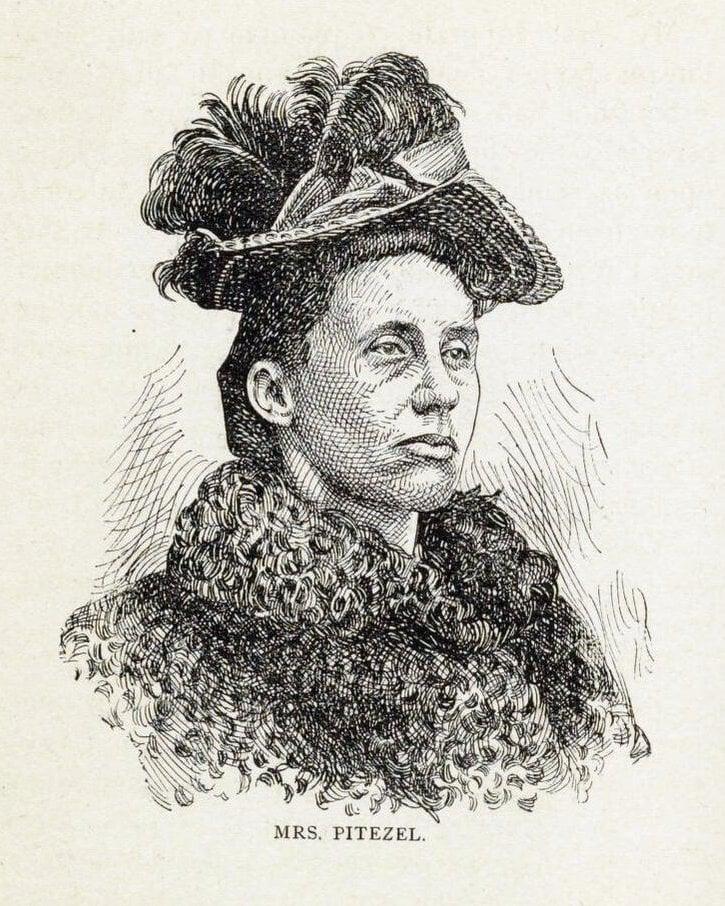 Serial killer H H Holmes murdered Mrs Pitezel's family