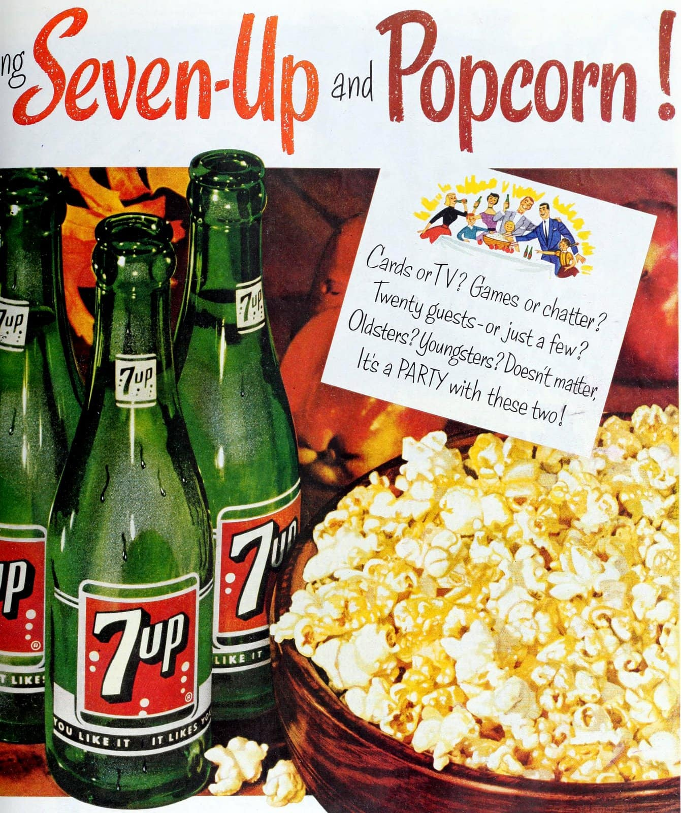 Seven Up and Popcoirn (1954)
