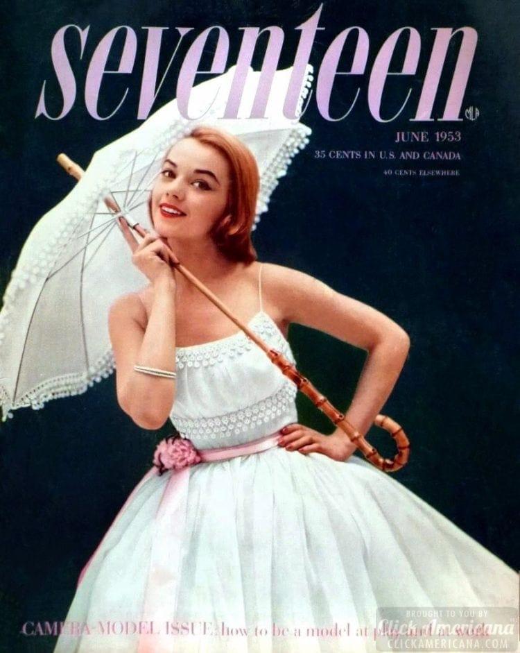 Seventeen magazine - June 1953