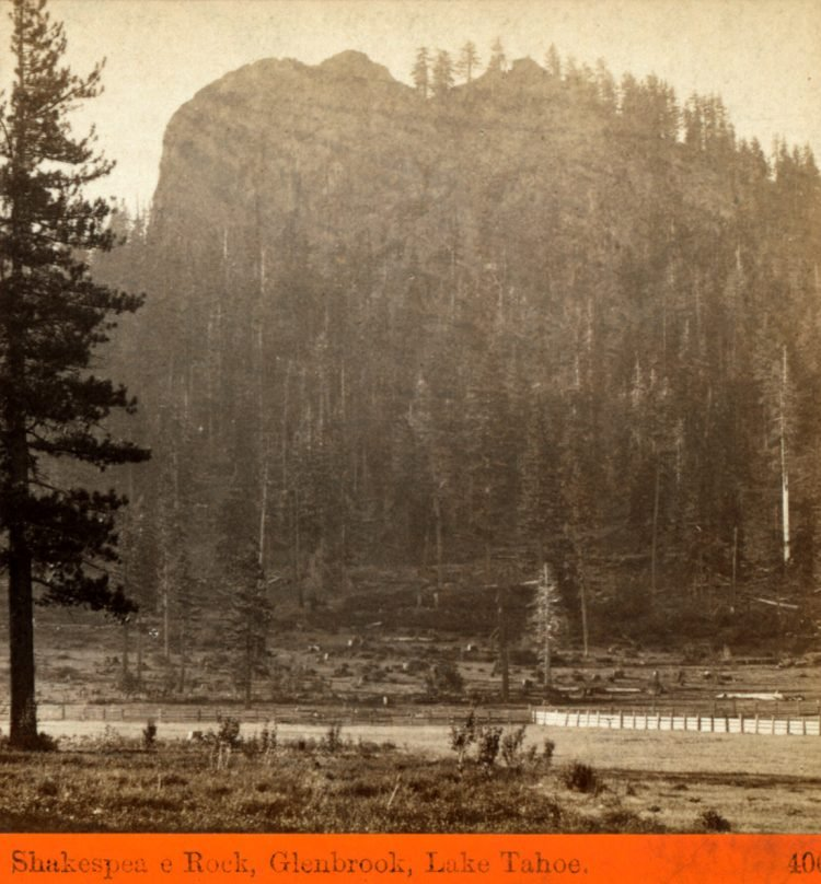 Shakespeare Rock, Glenbrook, Lake Tahoe